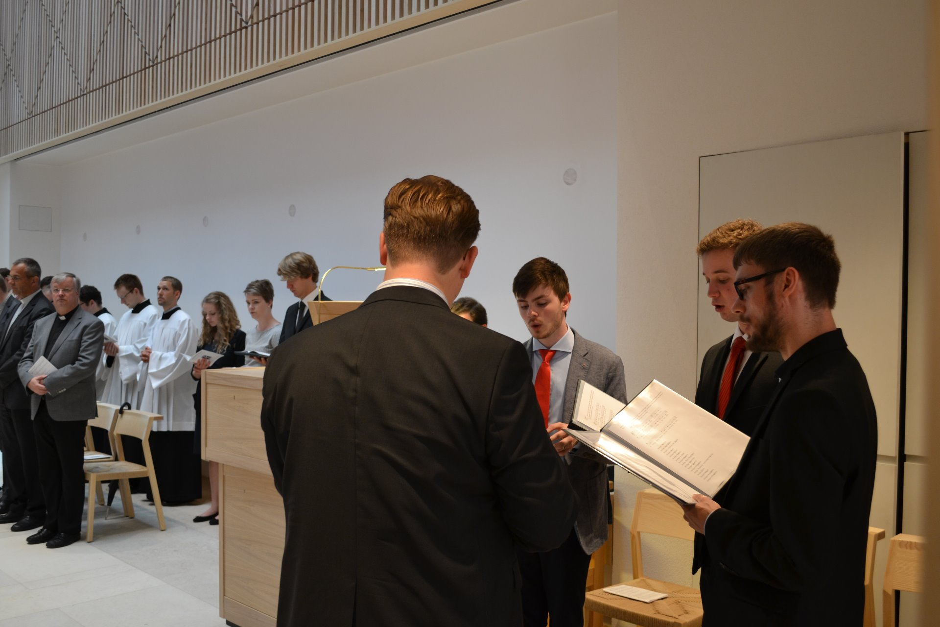 Kirchweihe am Tag des Patroziniums des Priesterseminares