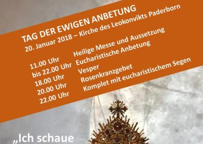 recollectio-evangelium-Plakat-Ewige-Anbetung-2018