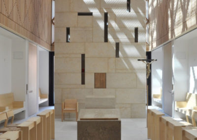 Die künstlerische Gestaltung der Seminarkirche