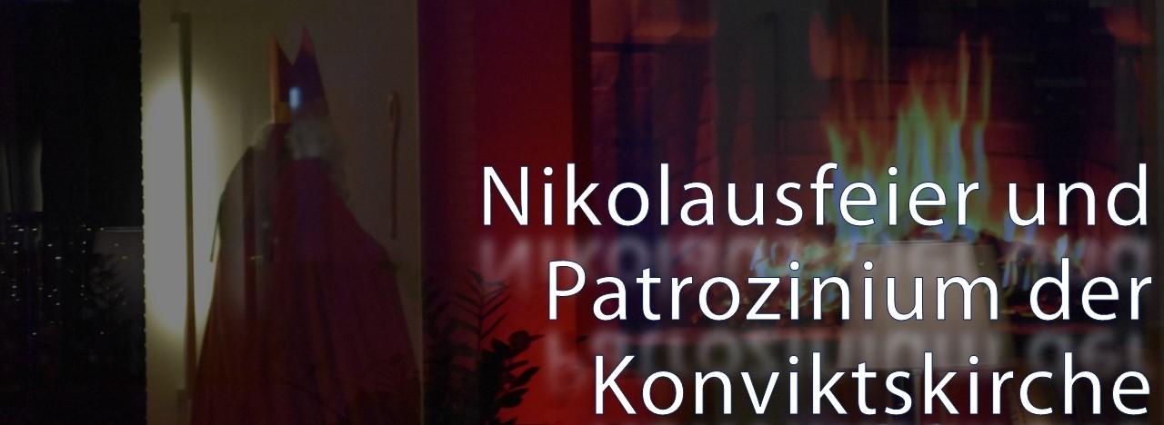 Nikolausfeier und Patrozinium der Konviktskirche
