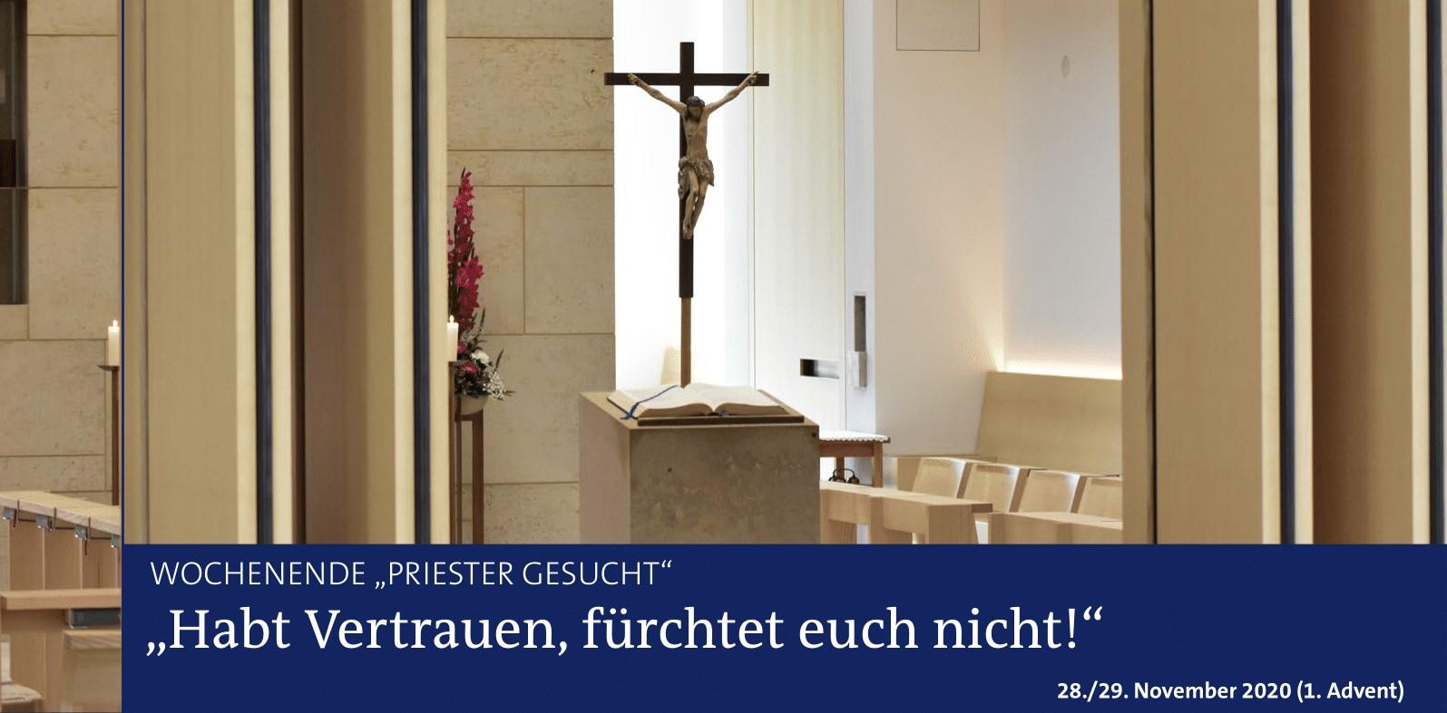 Priester gesucht am 1. Advent