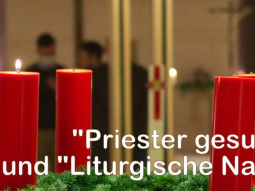 Priester gesucht und Liturgische Nacht 2020
