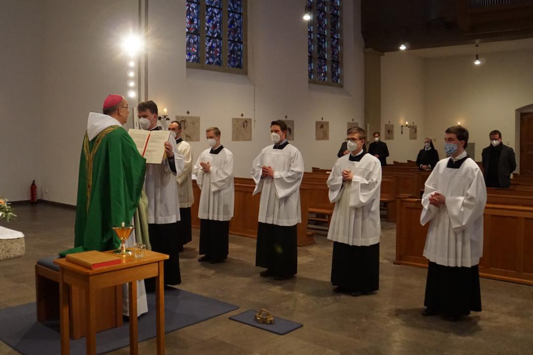 Liturgische Beauftragungen 2021